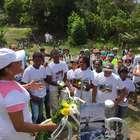 vc repórter: ato lembra ciclista morto e pede respeito na BA