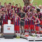 Bayern: Pep Guardiola's side win 25th Bundesliga title