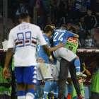 Napoli se impone a la Sampdoria y conserva el cuarto puesto