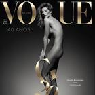 Gisele Bündchen posa desnuda en fotos para Vogue Brasil