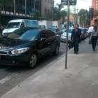 vc repórter: carro do TJ-SP ignora sinalização no centro