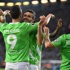 Wolfsburg golea al Arminia y es finalista de la Copa Alemana