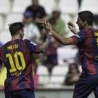 Luis Suárez scores hat trick as Barcelona routs Cordoba