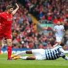 Agónico triunfo del Liverpool; QPR dedicó el gol a Ferdinand