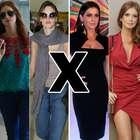 Vida real X Evento: veja diferença nos looks das famosas