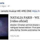 Natalia París recibe críticas por su 'censillo' musical