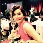 Adriana Vargas repite Emmy como mejor presentadora