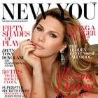 Daisy Fuentes sexy en portada de verano de New You Magazine