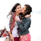 Patricia Velásquez luce muy enamorada junto a su novia