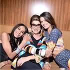 Costanza, Lea T e Isabelli Fontana posam para campanha