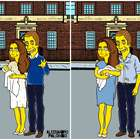 Familia real inglesa se pinta de amarillo al estilo Simpson