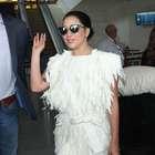 Lady Gaga usa vestido de grife carioca que custa R$ 2.500