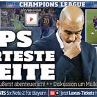 Alemania destaca la derrota de Guardiola en su anterior casa