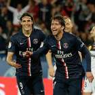 Edison Cavani hace un hat-trick y PSG golea a Guingamp