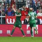 Augsburg le pega al campeón Bayern en la Bundesliga