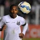 Santos anuncia saída de Robinho, e presidente chora