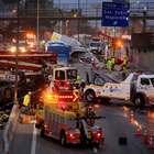 Colisión múltiple en Autopista Central deja varios heridos