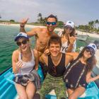 Jennifer Lawrence viaja a una playa mexicana con sus amigos
