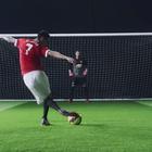 Espectacular gol de penalti de Di María a David de Gea
