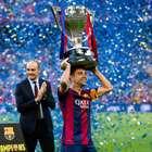 """Xavi: """"Ahora quiero levantar la Copa del Rey y la Champions"""""""