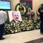 Familiares y amigos velan a Sebastián Lerdo de Tejada