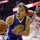 Warriors arrasam Rockets com Curry impressionante em médias