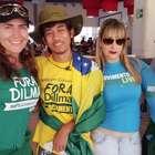 Integrantes do MBL são atropelados em marcha contra Dilma