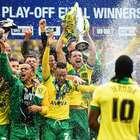 Norwich bate Middlesbrough e volta à elite em Wembley lotado