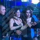 Sandra Arana y su bochornosa caída por abrazar a J Balvin