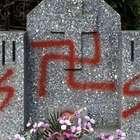 Ruso es desterrado por pintar cruz nazi en tumba de soldados