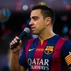 La íntima despedida de Xavi en el Camp Nou