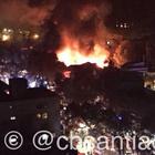 Incendio afecta sector de pubs en barrio Bellavista