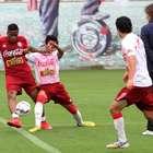 Selección peruana prueba equipo para amistoso con México