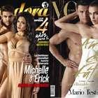 Michelle Soifer y Sabater recrean sexy foto de CR7 e Irina