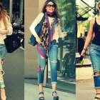 Jeans rotos, la tendencia favorita de las famosas