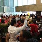 MST ocupa prédio da Caixa em protesto contra ajuste fiscal