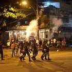 Desocupação de favela no Rio termina em confronto na UERJ