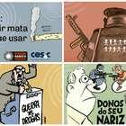 """Campanha com cartuns de Angeli e Laerte é """"censurada"""" em SP"""