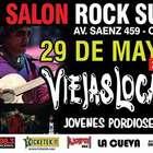 Viejas Locas y Jóvenes Pordioseros se presentan este viernes