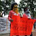Niños y jóvenes paraguayos protestan contra abusos sexuales