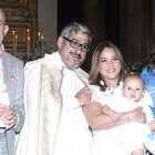 Angélica Vale bautiza a su hijo Daniel Nicolás en la Villa