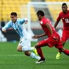Argentina decepciona y deja escapar victoria contra Panamá