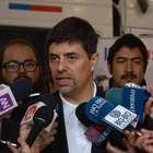 """Ministro Díaz: """"No nos vamos a volver comentaristas"""""""