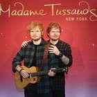 Ed Sheeran y 'su otro yo' en el museo Madame Tussauds
