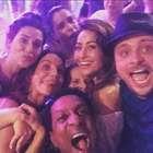 Em resort, Ivete faz festa de aniversário cheia de famosos