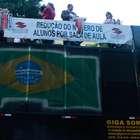 Centrais sindicais encerram protestos ameaçando greve geral
