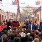 Bachelet entregó subsidios para mejorar cités de Santiago