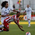 Em jogo de seis gols, ABC e Náutico empatam no Frasqueirão