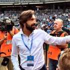 Pirlo obliges kiss cam request during New York City FC match