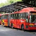 Detalles de la Línea 7 del Metrobús en Paseo de la Reforma